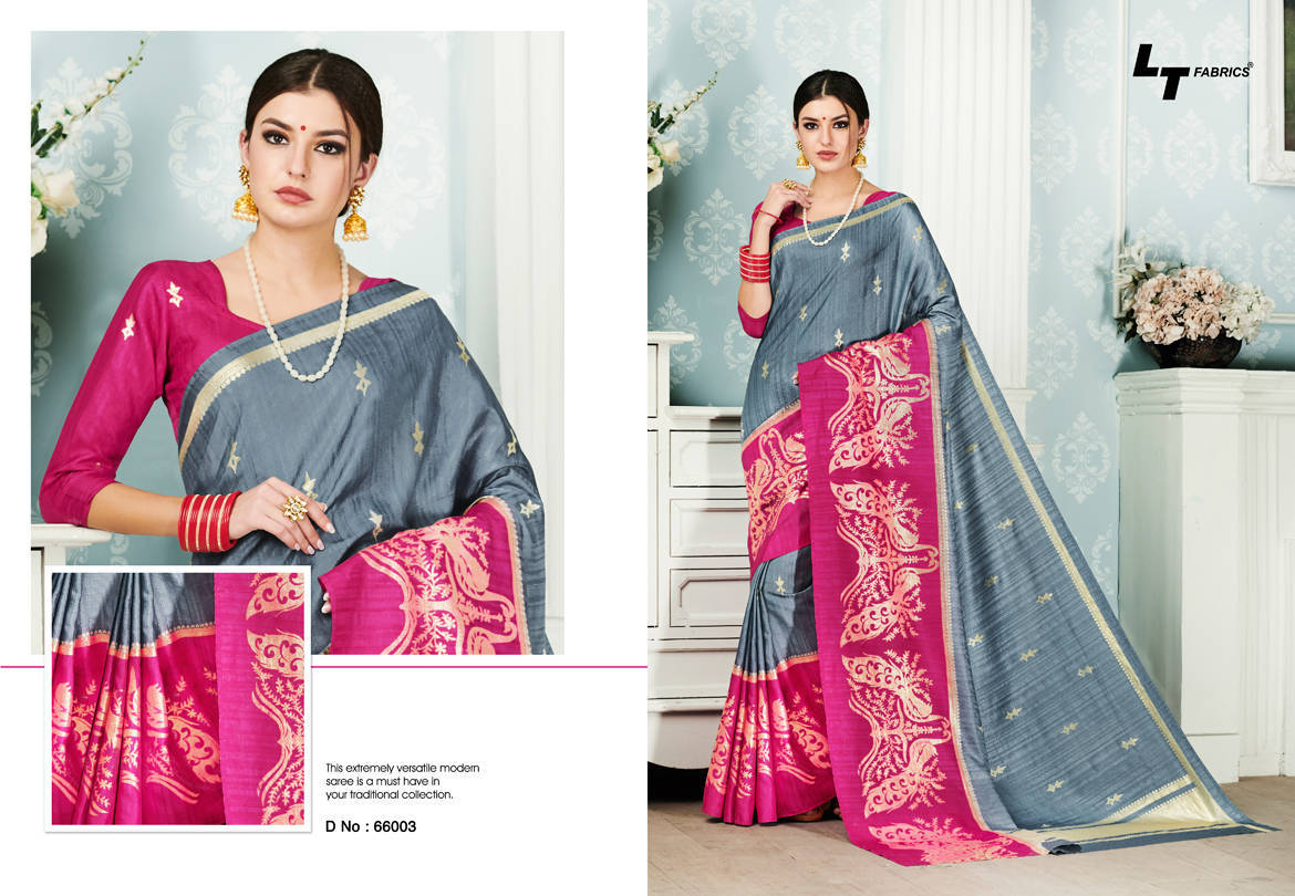 Lt Fabrics Alankrit Saree Sari Wholesale Catalog 10 Pcs 3 - Lt Fabrics Alankrit Saree Sari Wholesale Catalog 10 Pcs