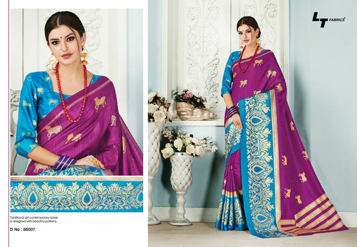 Lt Fabrics Alankrit Saree Sari Wholesale Catalog 10 Pcs 7 - Lt Fabrics Alankrit Saree Sari Wholesale Catalog 10 Pcs
