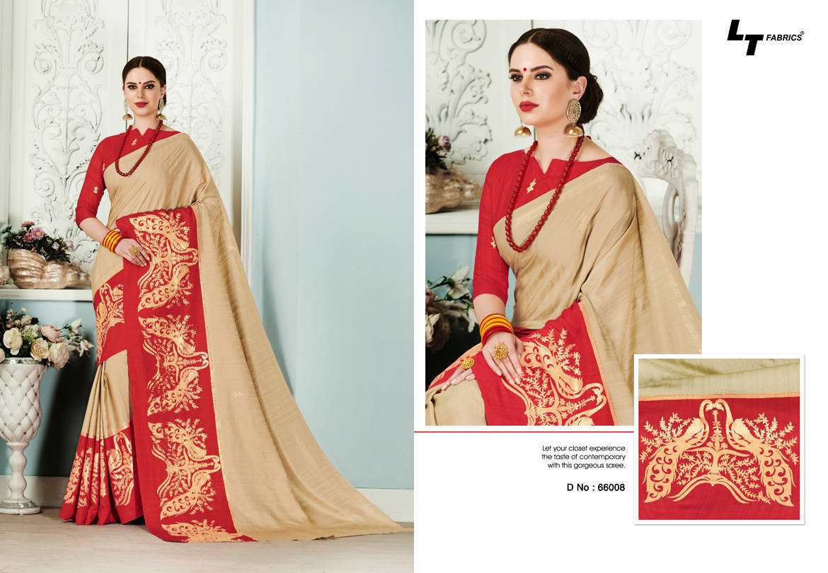 Lt Fabrics Alankrit Saree Sari Wholesale Catalog 10 Pcs 8 - Lt Fabrics Alankrit Saree Sari Wholesale Catalog 10 Pcs