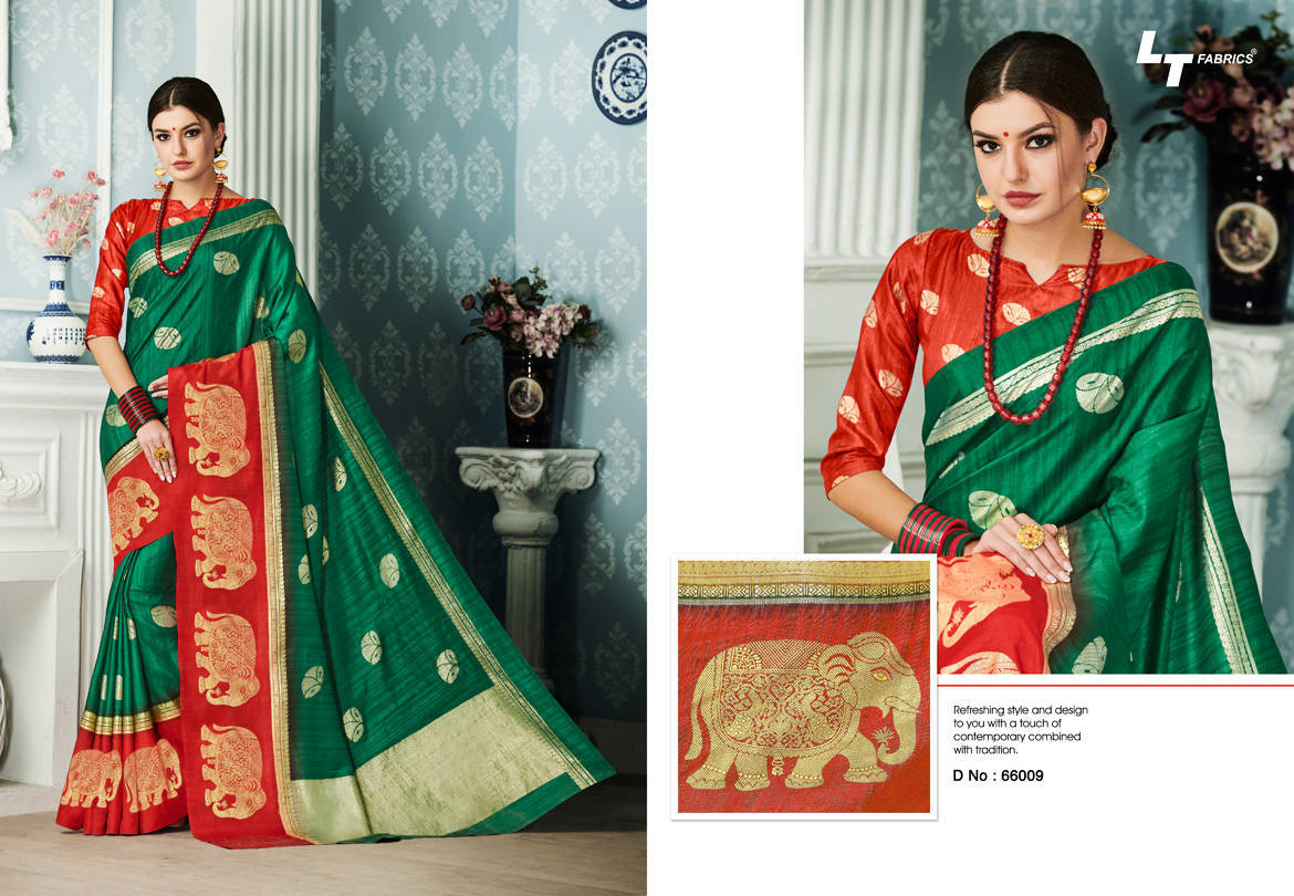 Lt Fabrics Alankrit Saree Sari Wholesale Catalog 10 Pcs 9 - Lt Fabrics Alankrit Saree Sari Wholesale Catalog 10 Pcs