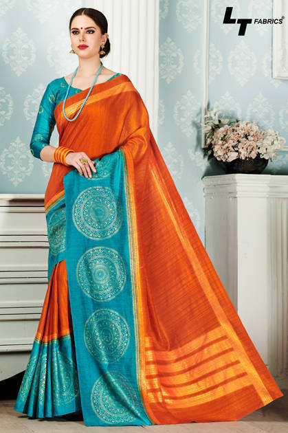 Lt Fabrics Alankrit Saree Sari Wholesale Catalog 10 Pcs - Lt Fabrics Alankrit Saree Sari Wholesale Catalog 10 Pcs