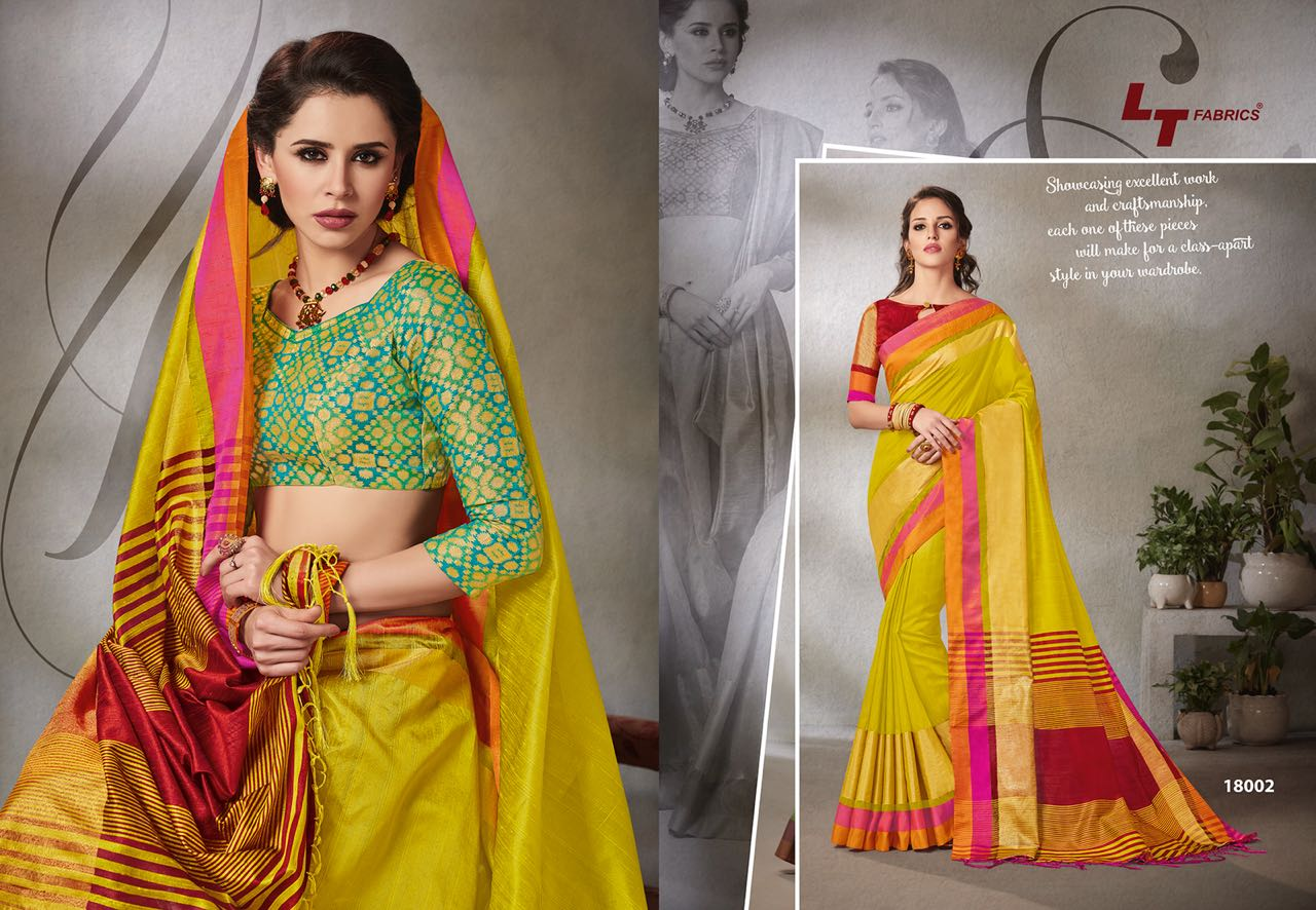 Lt Fabrics Falak Double Blouse Saree Sari Wholesale Catalog 10 pcs 2 - Lt Fabrics Falak Double Blouse Saree Sari Wholesale Catalog 10 pcs