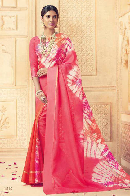 Lt Fabrics Rudra Saree Sari Wholesale Catalog 10 Pcs