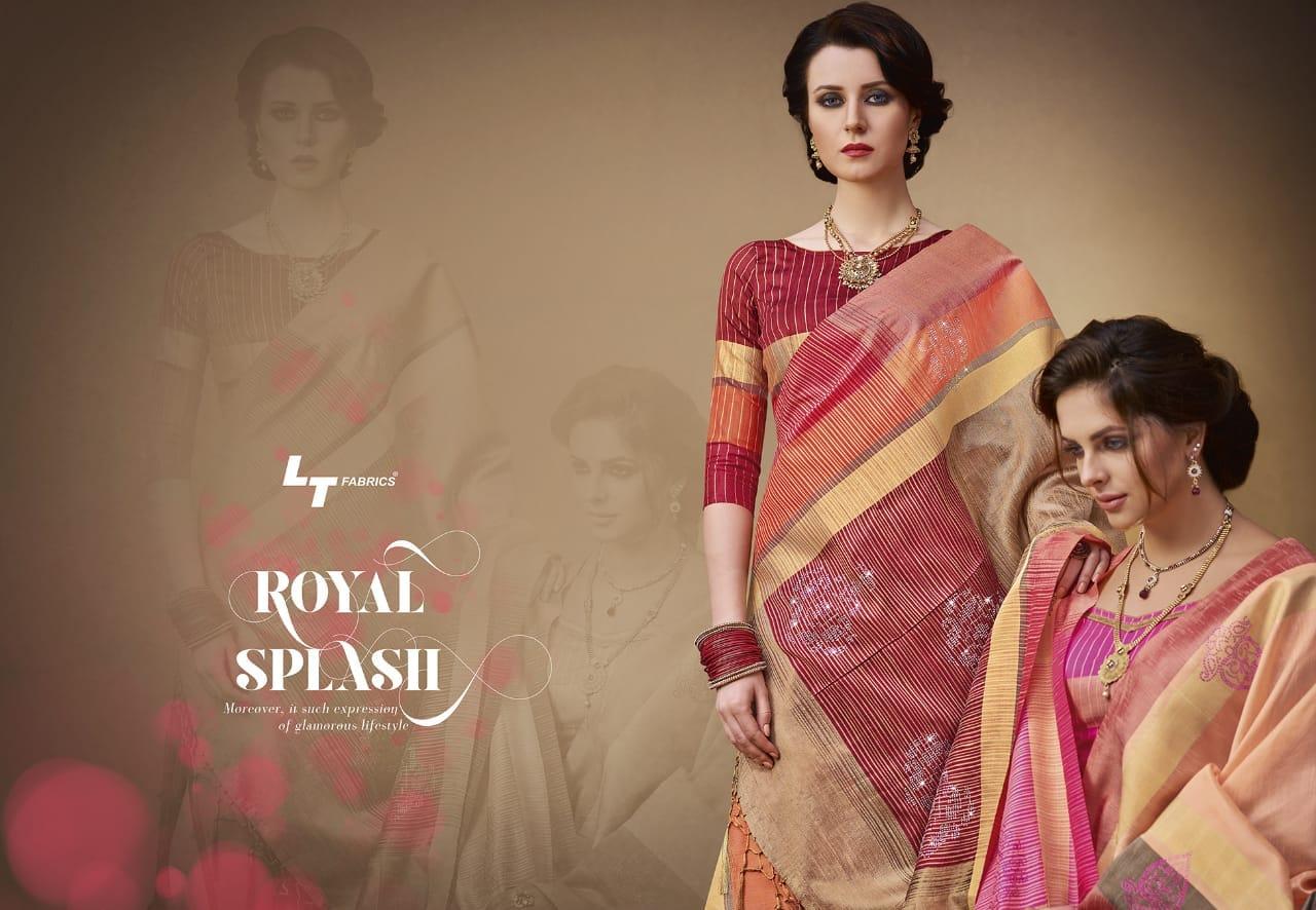 Lt Fabrics Sangini Saree Sari Wholesale Catalog 10 Pcs 10 - Lt Fabrics Sangini Saree Sari Wholesale Catalog 10 Pcs