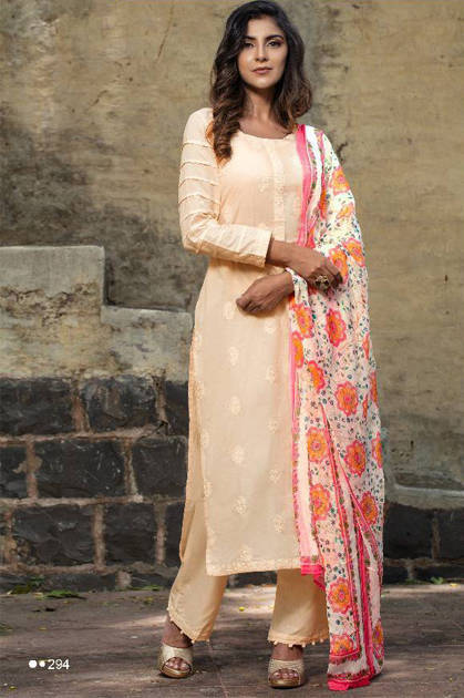 Rvee Gold Khwaish Salwar Suit Wholesale Catalog 10 Pcs