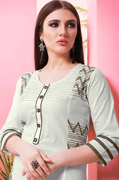 S More Kiss Miss Vol 10 Kurti Wholesale Catalog 11 Pcs