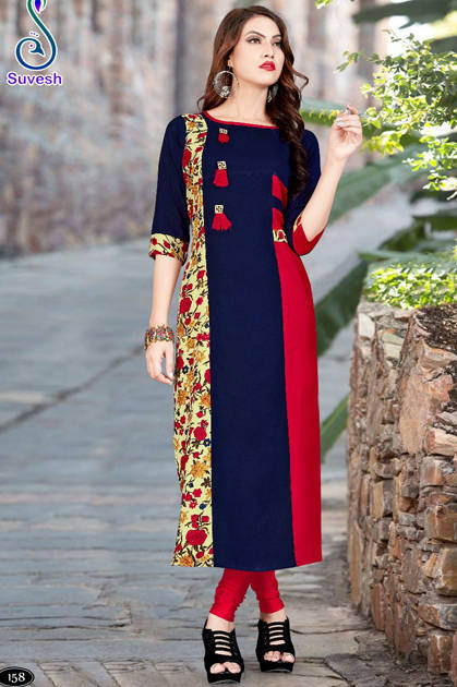 Suvesh Natasha Vol 11 Kurti Wholesale Catalog 8 Pcs