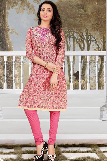 Sweety Tengo Cotton Kurti Wholesale Catalog 9 Pcs