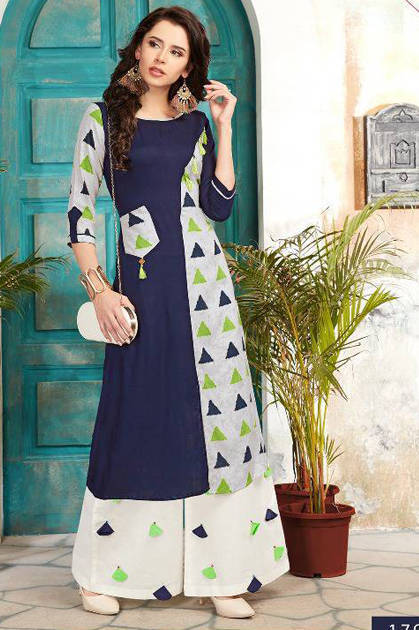 Veera Tex Pulse Kurti Wholesale Catalog 7 Pcs