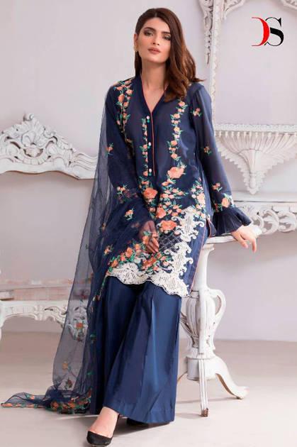 Deepsy Florent Vol 17 Salwar Suit Wholesale Catalog 5 Pcs