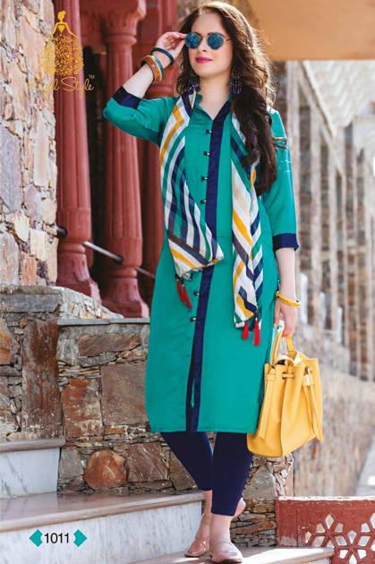 Kajal Style Fashion Classic Vol 1 Kurti Wholesale Catalog 14 Pcs