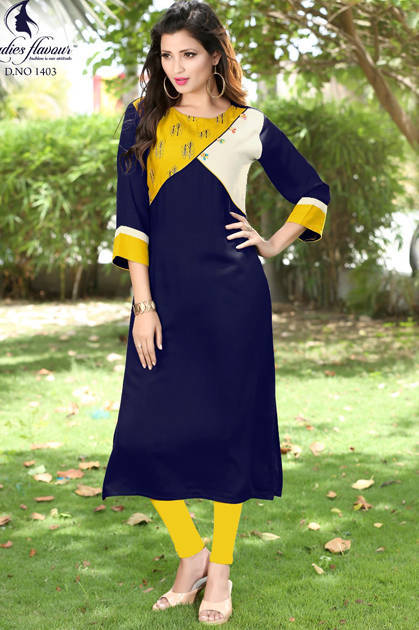 Ladies Flavour Kudi Vol 2 Kurti Wholesale Catalog 7 Pcs