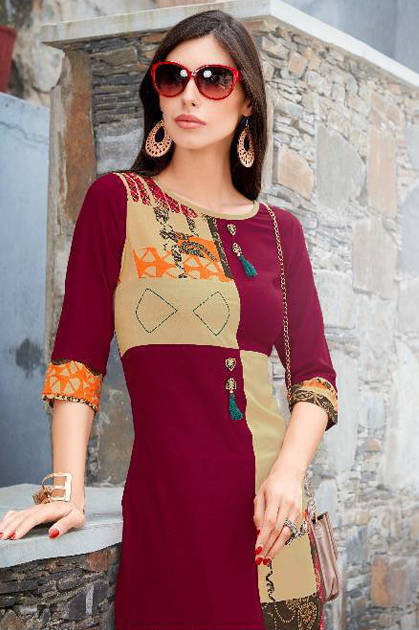 Manya Autograph Vol 2 Kurti Wholesale Catalog 8 Pcs