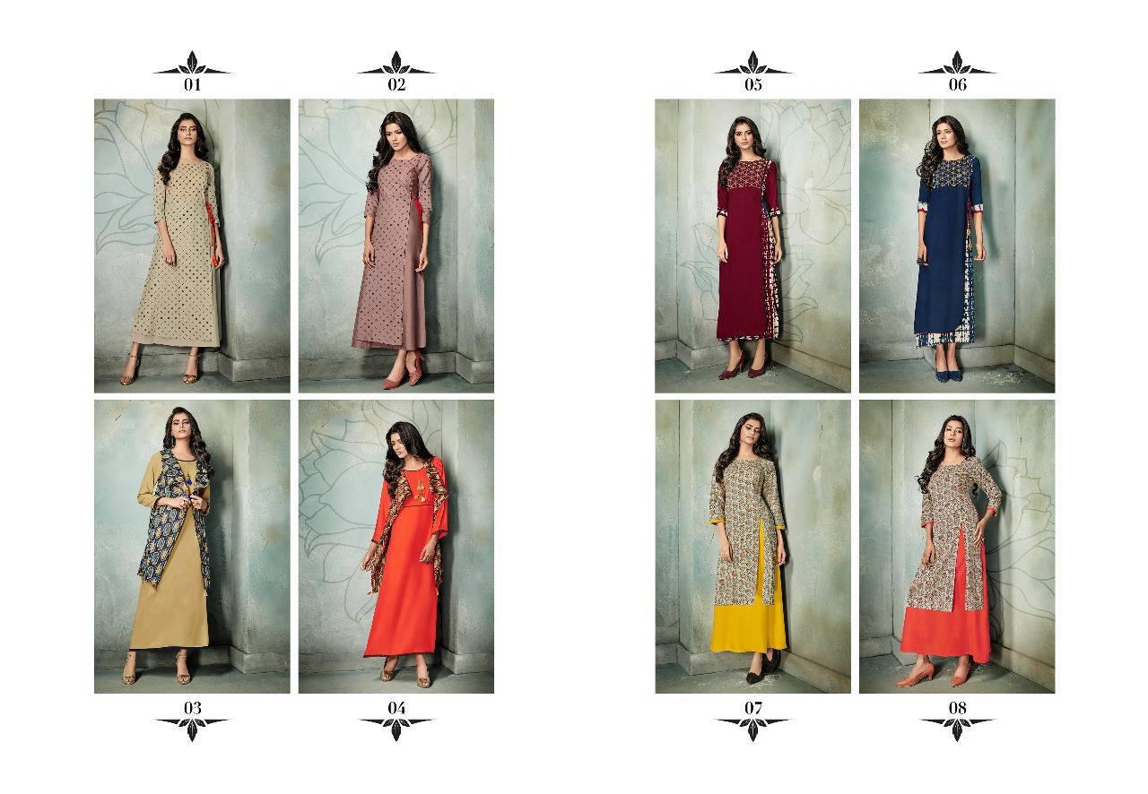 Rani Baanvi Charu Kurti Wholesale Catalog 8 Pcs 10 - Rani Baanvi Charu Kurti Wholesale Catalog 8 Pcs