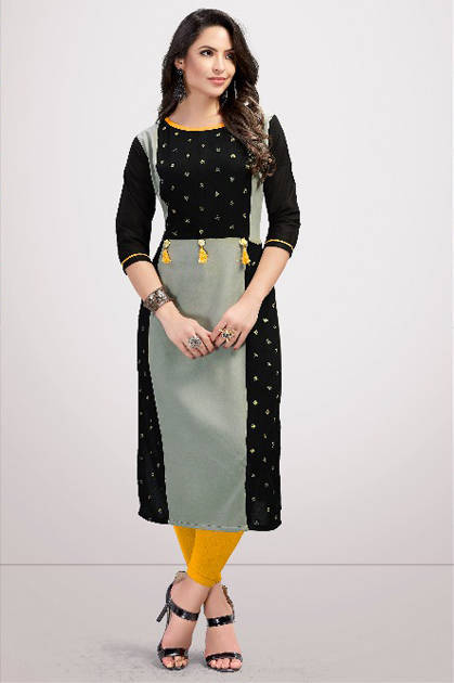 Veera Tex Zareena Kurti Wholesale Catalog 7 Pcs