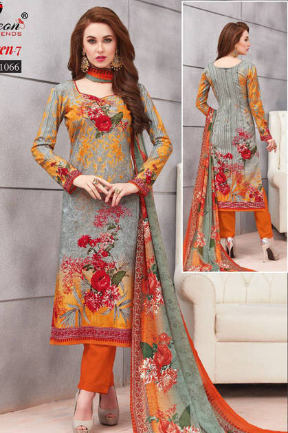 Floreon Trends Aafreen Vol 7 Suit Wholesale Catalog 10 Pcs
