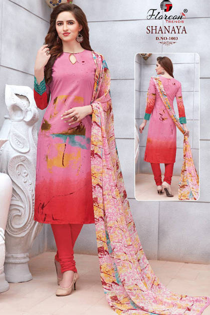 Floreon Trends Shanaya Salwar Suit Wholesale Catalog 9 Pcs