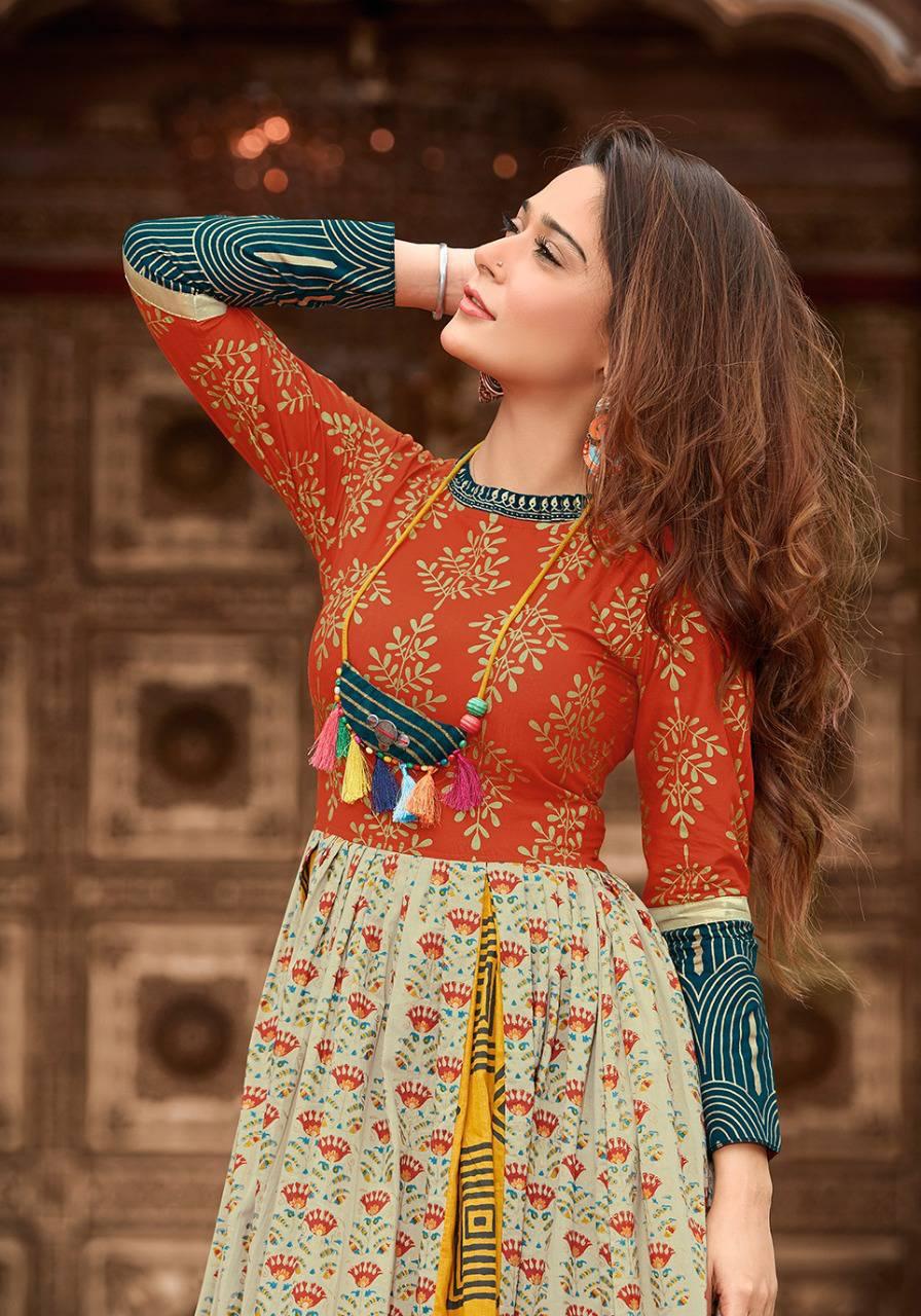 024082dcc0 Kajal Style Mumtaz Vol 3 Kurti Wholesale Catalog 8 Pcs (6 ...