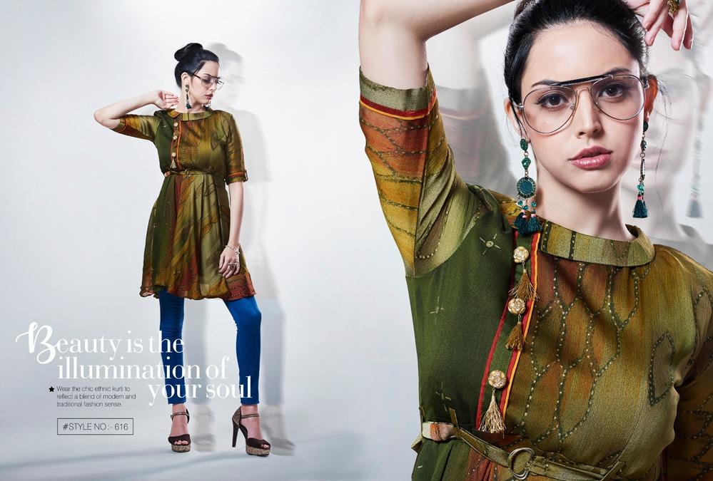Kajree Fashion Rebel Kurti Wholesale Catalog 6 Pcs 12 - Kajree Fashion Rebel Kurti Wholesale Catalog 6 Pcs