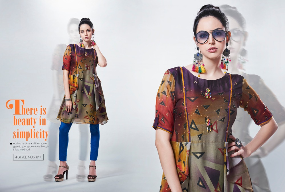 Kajree Fashion Rebel Kurti Wholesale Catalog 6 Pcs 7 - Kajree Fashion Rebel Kurti Wholesale Catalog 6 Pcs