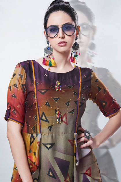Kajree Fashion Rebel Kurti Wholesale Catalog 6 Pcs - Kajree Fashion Rebel Kurti Wholesale Catalog 6 Pcs