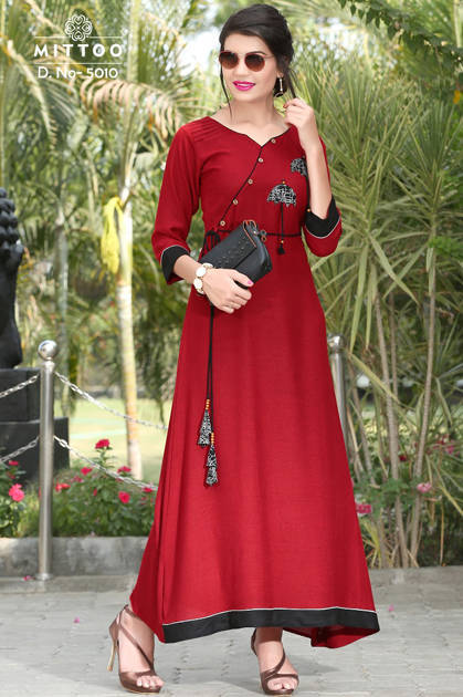 Mittoo Prachi Vol 2 Kurti Wholesale Catalog 4 Pcs