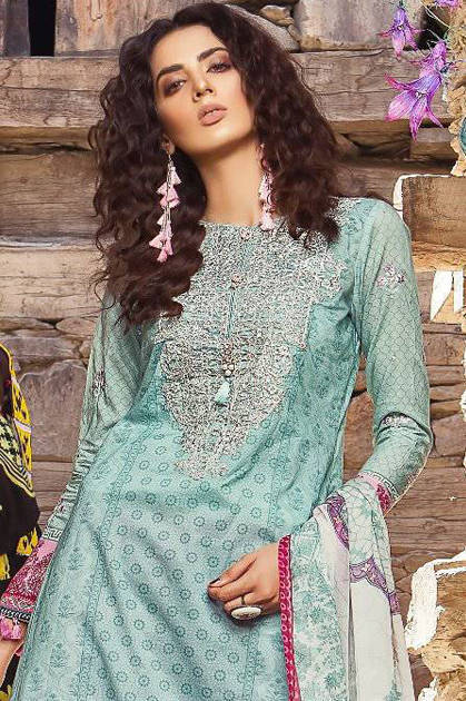 Shree Fabs Mariya B Print Salwar Suit Wholesale Catalog 8 Pcs