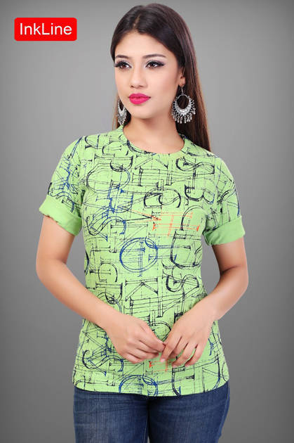 Varun InkLine Retro Vol 25 Kurti Wholesale Catalog 10 Pcs