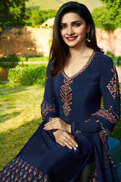 Vinay Fashion Silkina Royal Crape Vol 17 Salwar Suit Wholesale Catalog 10 Pcs