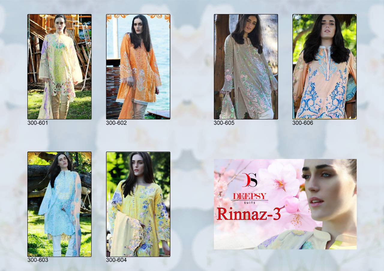 Deepsy Rinnaz Vol 3 Salwar Suit Wholesale Catalog 6 Pcs 9 - Deepsy Rinnaz Vol 3 Salwar Suit Wholesale Catalog 6 Pcs
