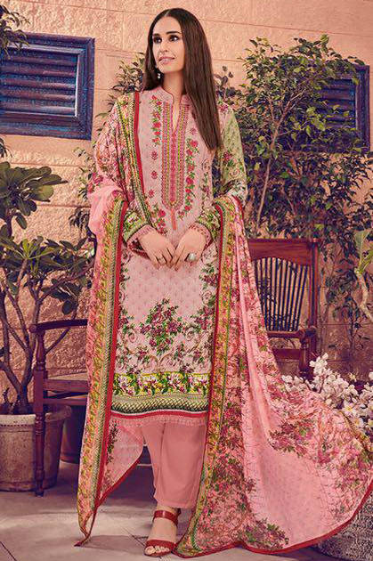 House Of Lawn Muslin Lawn Cotton Collection Karachi Salwar Suit Wholesale Catalog 10 Pcs