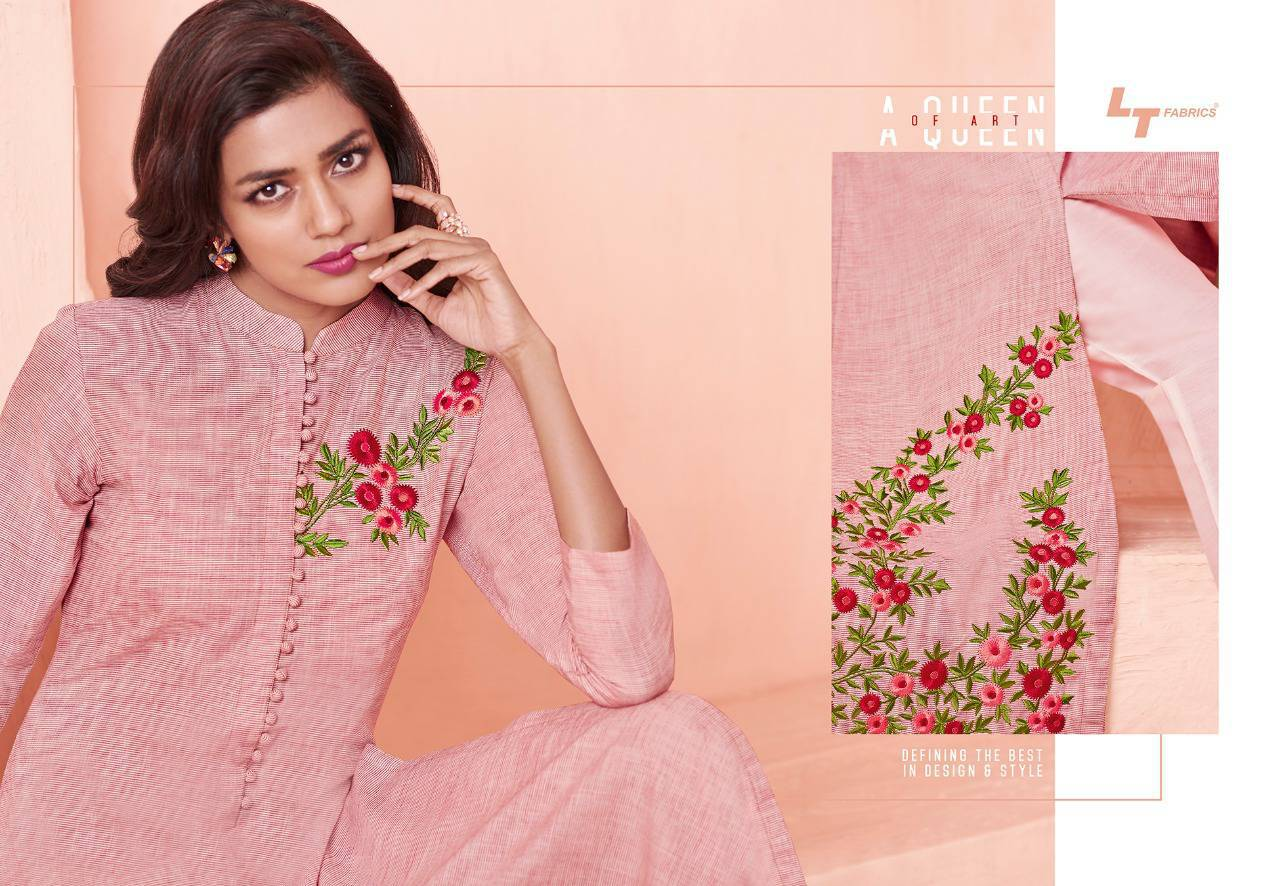 Lt Fabrics Nitya Vol 31 Nx Kurti Wholesale Catalog 12 Pcs 1 - Lt Fabrics Nitya Vol 31 Nx Kurti Wholesale Catalog 12 Pcs