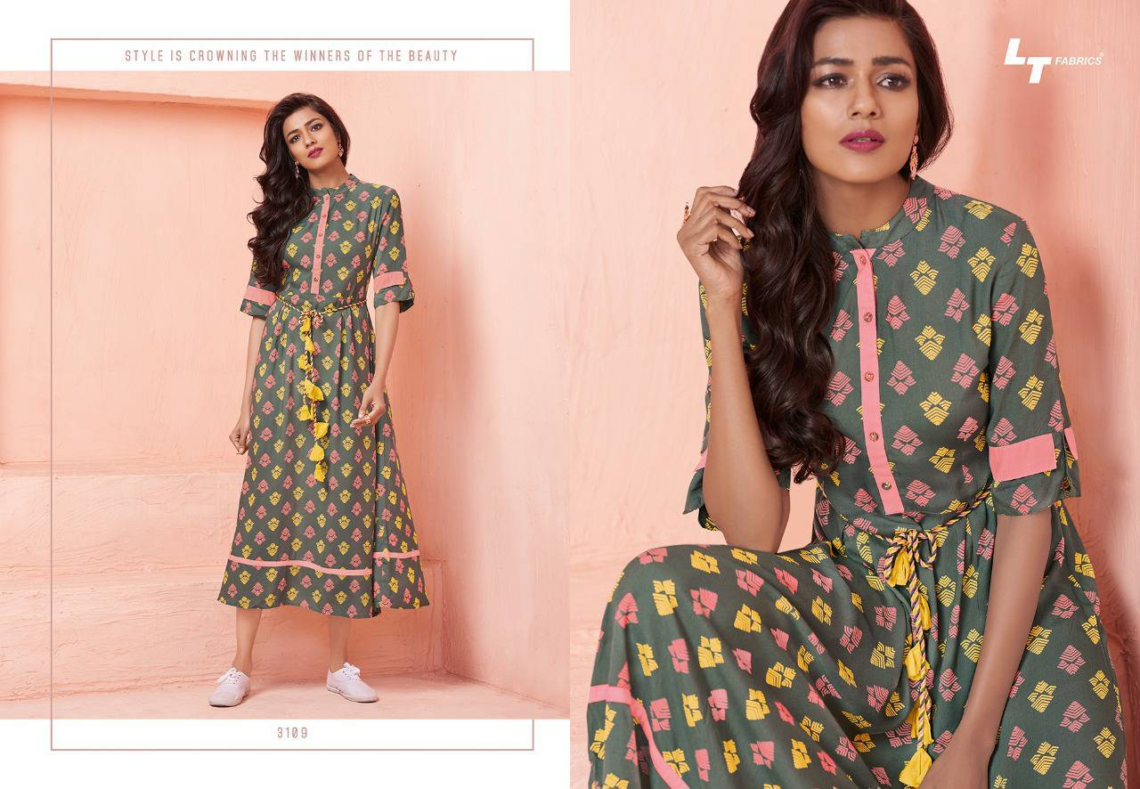 Lt Fabrics Nitya Vol 31 Nx Kurti Wholesale Catalog 12 Pcs 10 - Lt Fabrics Nitya Vol 31 Nx Kurti Wholesale Catalog 12 Pcs
