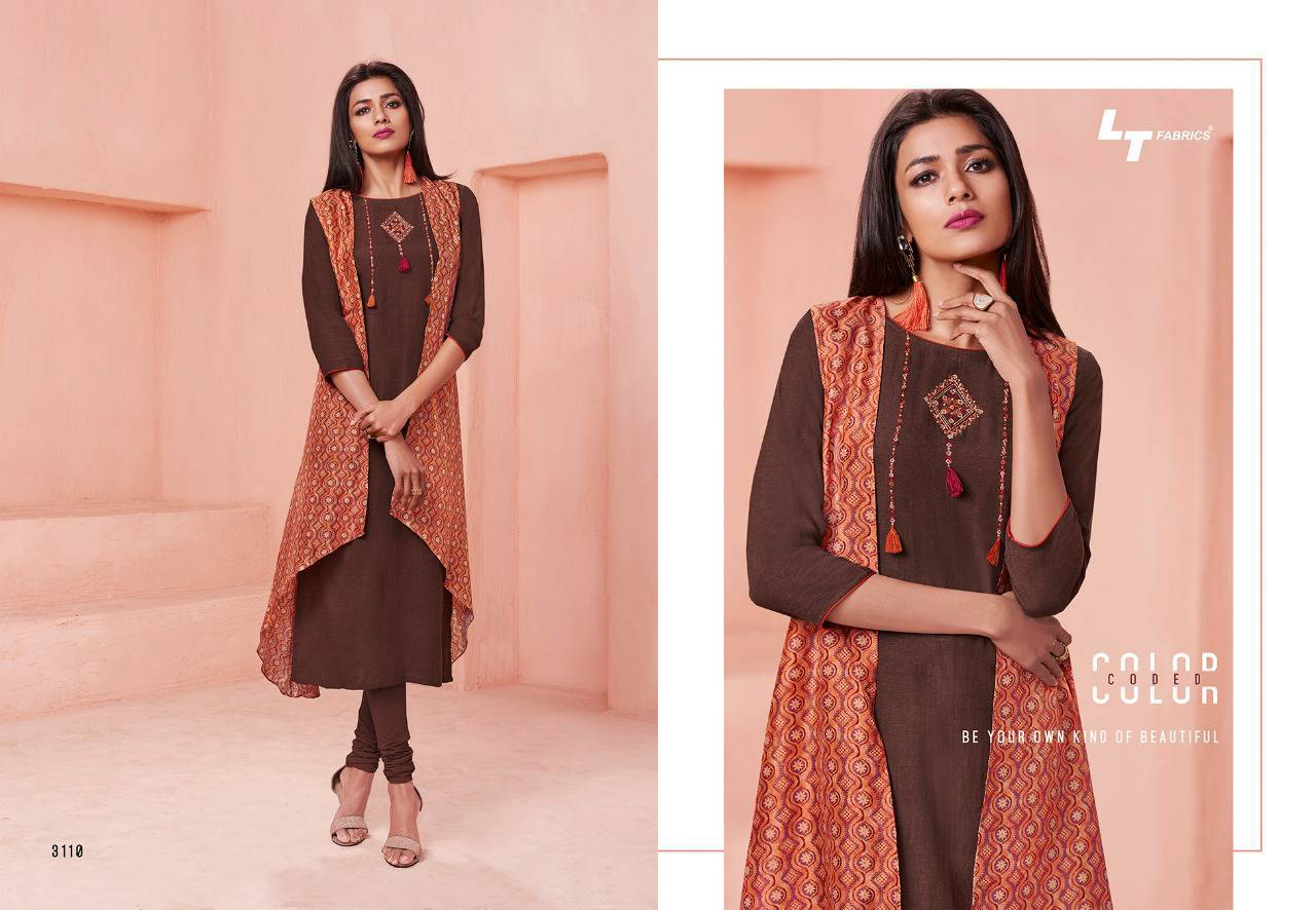 Lt Fabrics Nitya Vol 31 Nx Kurti Wholesale Catalog 12 Pcs 11 - Lt Fabrics Nitya Vol 31 Nx Kurti Wholesale Catalog 12 Pcs