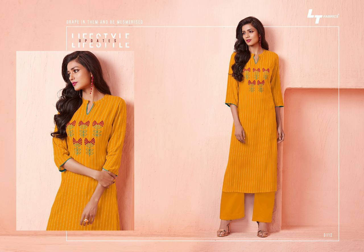 Lt Fabrics Nitya Vol 31 Nx Kurti Wholesale Catalog 12 Pcs 13 - Lt Fabrics Nitya Vol 31 Nx Kurti Wholesale Catalog 12 Pcs
