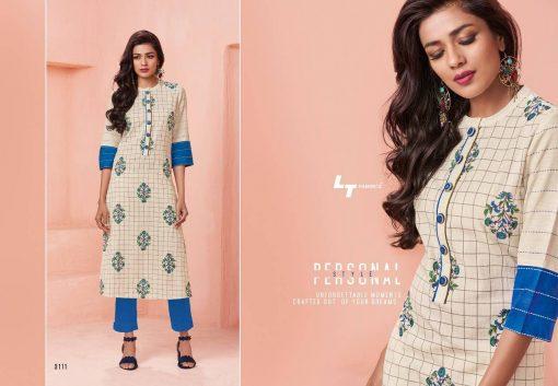 Lt Fabrics Nitya Vol 31 Nx Kurti Wholesale Catalog 12 Pcs 14 510x353 - Lt Fabrics Nitya Vol 31 Nx Kurti Wholesale Catalog 12 Pcs