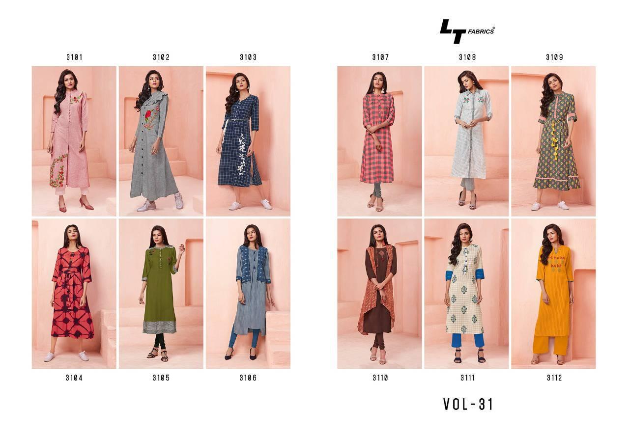 Lt Fabrics Nitya Vol 31 Nx Kurti Wholesale Catalog 12 Pcs 15 - Lt Fabrics Nitya Vol 31 Nx Kurti Wholesale Catalog 12 Pcs