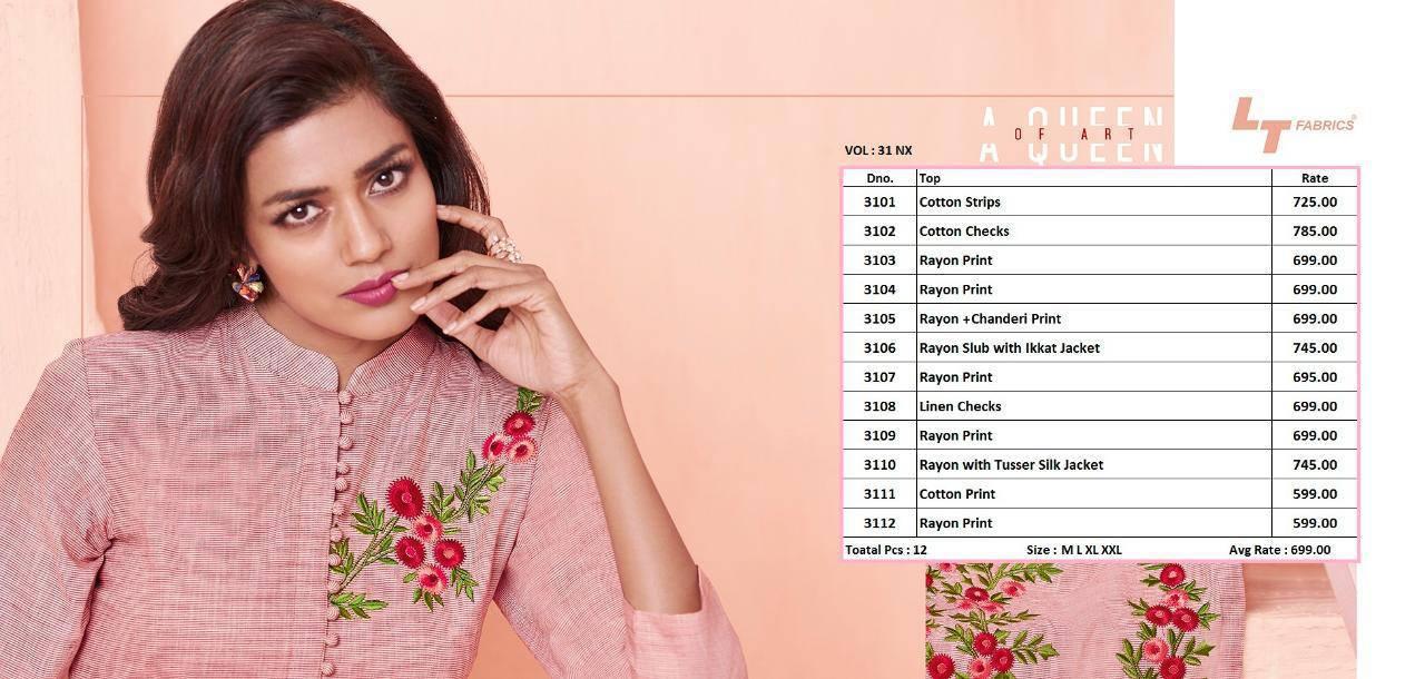 Lt Fabrics Nitya Vol 31 Nx Kurti Wholesale Catalog 12 Pcs 17 - Lt Fabrics Nitya Vol 31 Nx Kurti Wholesale Catalog 12 Pcs