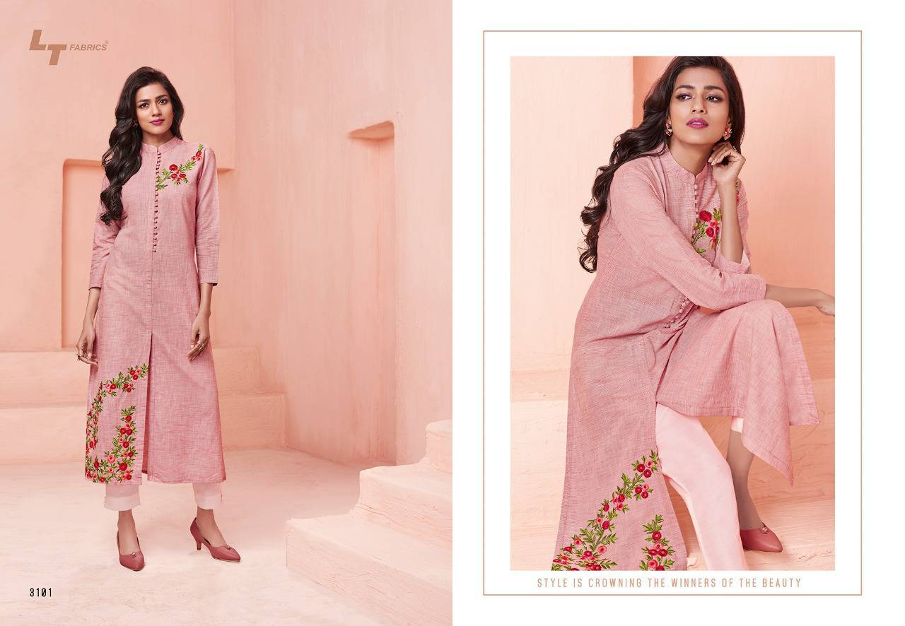 Lt Fabrics Nitya Vol 31 Nx Kurti Wholesale Catalog 12 Pcs 2 - Lt Fabrics Nitya Vol 31 Nx Kurti Wholesale Catalog 12 Pcs