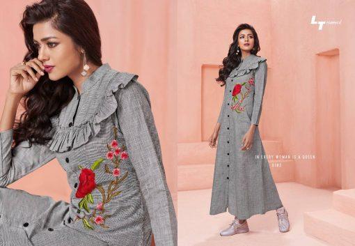 Lt Fabrics Nitya Vol 31 Nx Kurti Wholesale Catalog 12 Pcs 3 510x353 - Lt Fabrics Nitya Vol 31 Nx Kurti Wholesale Catalog 12 Pcs