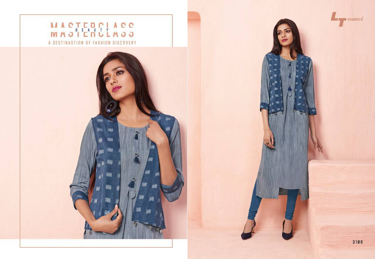 Lt Fabrics Nitya Vol 31 Nx Kurti Wholesale Catalog 12 Pcs 9 - Lt Fabrics Nitya Vol 31 Nx Kurti Wholesale Catalog 12 Pcs