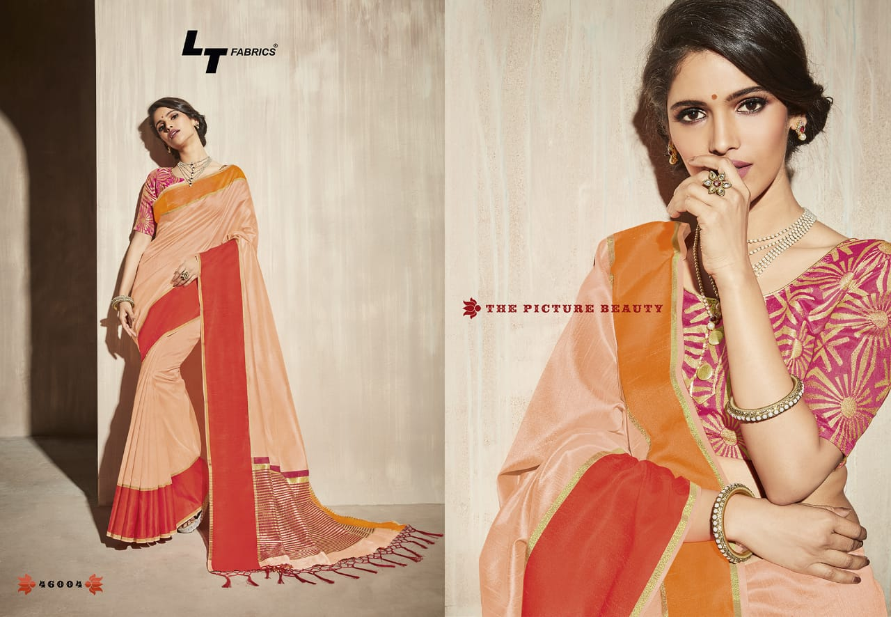 Lt Fabrics Surbhi Saree Sari Wholesale Catalog 10 Pcs 1 - Lt Fabrics Surbhi Saree Sari Wholesale Catalog 10 Pcs