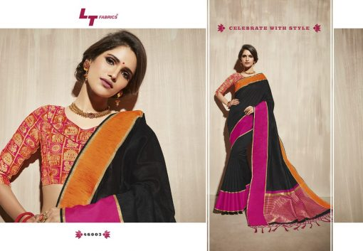 Lt Fabrics Surbhi Saree Sari Wholesale Catalog 10 Pcs 11 510x353 - Lt Fabrics Surbhi Saree Sari Wholesale Catalog 10 Pcs
