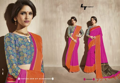 Lt Fabrics Surbhi Saree Sari Wholesale Catalog 10 Pcs 12 510x353 - Lt Fabrics Surbhi Saree Sari Wholesale Catalog 10 Pcs