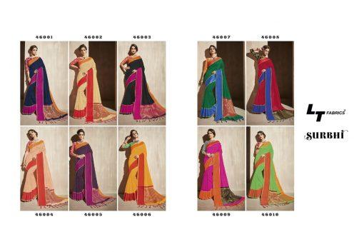 Lt Fabrics Surbhi Saree Sari Wholesale Catalog 10 Pcs 2 510x353 - Lt Fabrics Surbhi Saree Sari Wholesale Catalog 10 Pcs