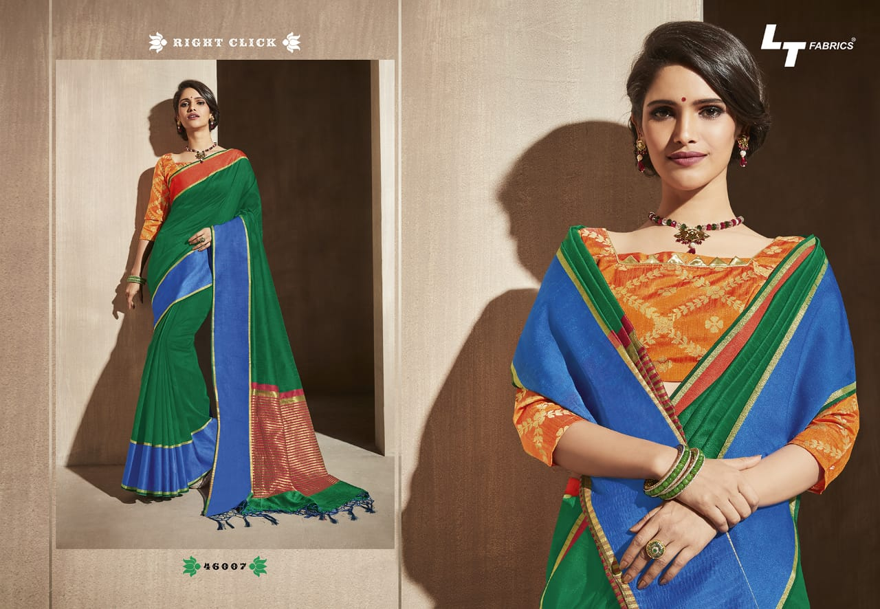 Lt Fabrics Surbhi Saree Sari Wholesale Catalog 10 Pcs 3 - Lt Fabrics Surbhi Saree Sari Wholesale Catalog 10 Pcs