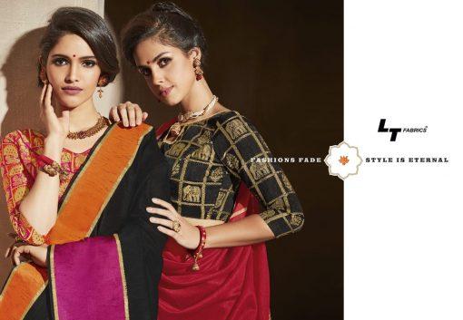 Lt Fabrics Surbhi Saree Sari Wholesale Catalog 10 Pcs 5 510x353 - Lt Fabrics Surbhi Saree Sari Wholesale Catalog 10 Pcs