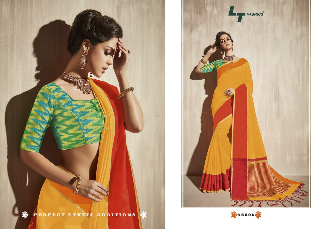 Lt Fabrics Surbhi Saree Sari Wholesale Catalog 10 Pcs 6 - Lt Fabrics Surbhi Saree Sari Wholesale Catalog 10 Pcs
