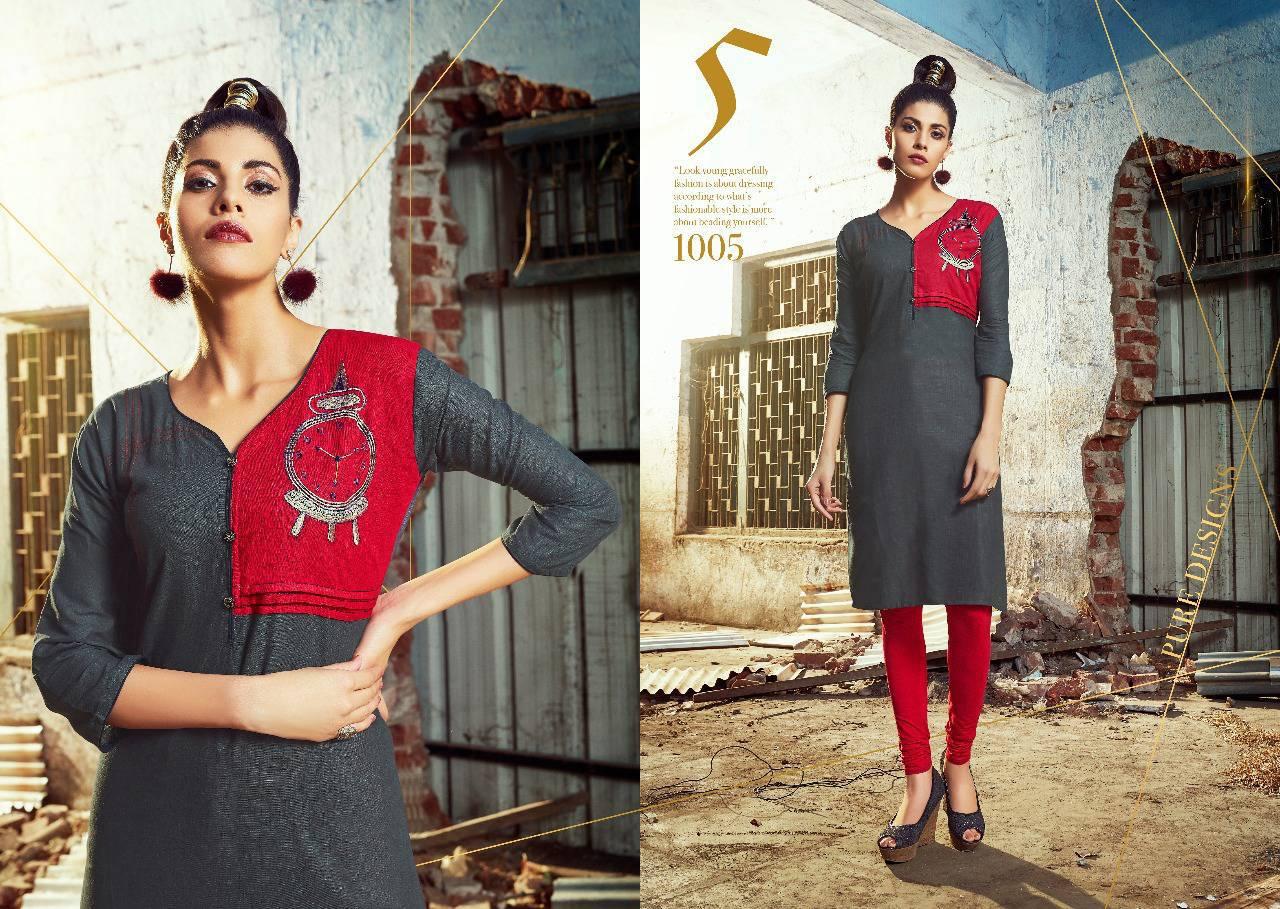 S More Spark Kurti Wholesale Catalog 8 Pcs 9 - S More Spark Kurti Wholesale Catalog 8 Pcs