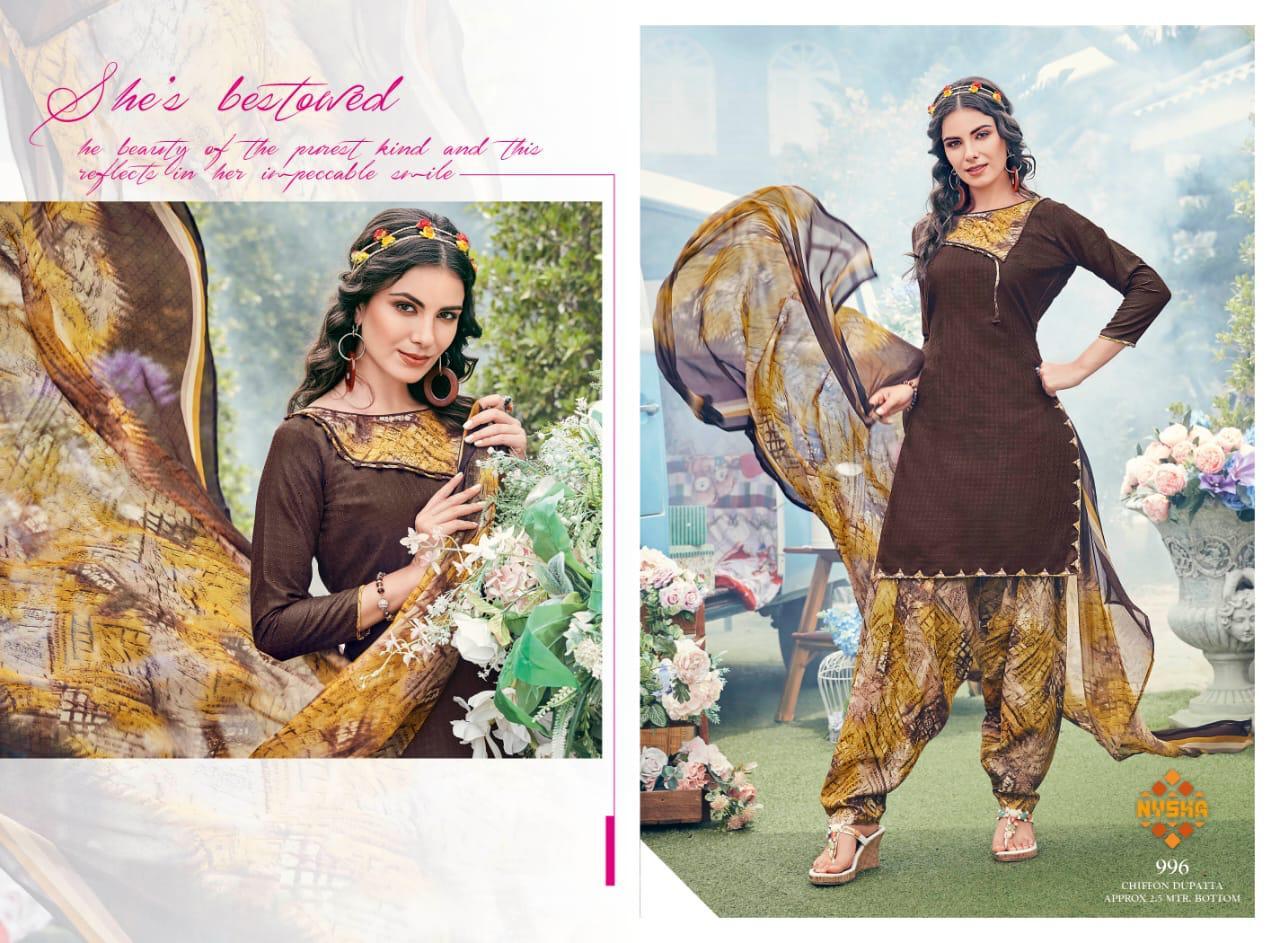 Anmol Nysha Patiyala Vol 6 Salwar Suit Wholesale Catalog 12 Pcs 2 - Anmol Nysha Patiyala Vol 6 Salwar Suit Wholesale Catalog 12 Pcs
